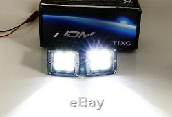 40w Cree Led Avec Pods Foglight Supports Opening, Câblage Pour 03-06 Gmc Sierra 1500