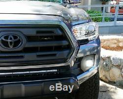 40w Cree Led Avec Support, Cosses Covers Brouillard, Câblages Pour Façades 16+ Toyota Tacoma