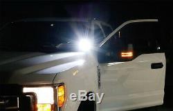 40w Cree Led Pods Aveca-pilier Support / Câblage Pour 07-14 Chevy Silverado Gmc Sierra
