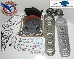 4l60e Rebuild Kit Heavy Duty Heg Kit Maître Etape 3 1997-2000 Avec Turbulateurs
