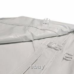 8'h 20x40' High Peak Tent Sidewall Kit Fenêtre Solide Et Cathédrale 16 Oz Block-out