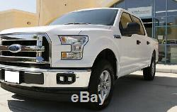 80w Cree Led Cubique Antibrouillards Withmounting Supports, Bezels Pour 2015-2017 Ford F-150