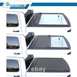 Ajustements 2007-2021 Tundra Tonneau Cover 5.5ft Retractable Waterproof Hard Aluminum