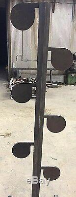 Ar500 Steel Cible Dueling Arbre Diy Kit (6) 6 X 3/8 Heavy Duty Pivot Tubes