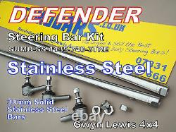 Barres De Direction Defender Stainless Steel Heavy Duty Track Rod Drag Link Sumobars
