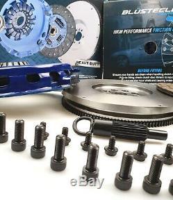 Blusteele Heavy Duty Kit D'embrayage Et Smf Volant Commodore Ve V6 Sv6 H7 Alloytech