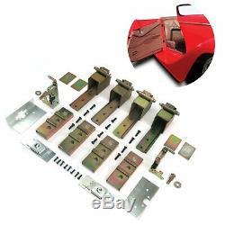 Brand New Quatre Suicide Porte Heavy Duty Caché Hinges Rat Rod 2 Porte Kit Soudure