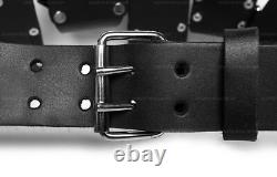 Buildpro Échafaudages Belt Kit Cuir Heavy Duty Couture Lbbsbk
