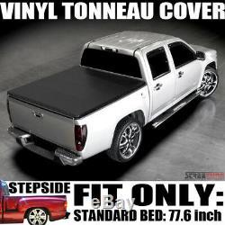 Caché Snap Vinyle Tonneau Cover Pour 99-07 Silverado / Sierra Stepside 6.5' / 78 Chambres
