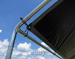 Canopy Heavy Duty Kit Fittings- 9 Approprié Pour 1-5 / 8 Pouces Auvent Haut Cadre Pas