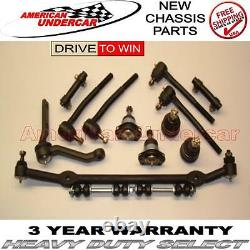 Caprice Impala Ss Police Ou Taxi Ball Joint Tie Rod Idler Center Link Kit 94-96