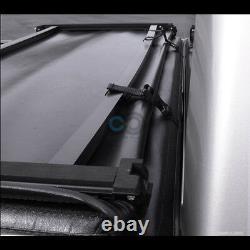 Fit 04-14 Ford F150/mark Lt 5.5'/66 Short Bed Tri Fold Soft Vinyl Tonneau Cover