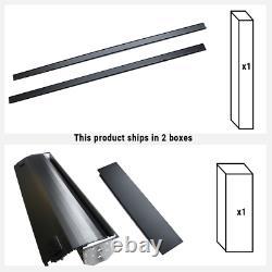 Fit 2014-2018 Silverado/sierra 6.5ft Lit Aluminium Rétractable Hard Tonneau Cover