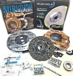 Flywheel Surveillant Duty Clutch Kit & Billet Pour La Patrouille Nissan Gq Td42 Y60
