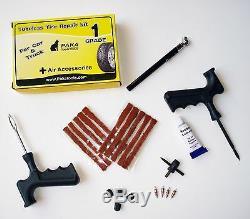 Fortes Charges Industrielles 40 Pieds 1 Jauge Câbles Booster Jumper + Kit De Réparation De Pneu