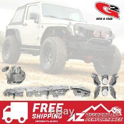 G2 Axle Heavy Duty Avant Truss Kit Avec Goussets Dana 30 07-18 Jeep Wrangler Jk