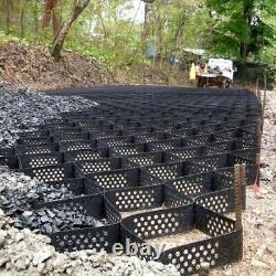 Geocell Ground Grid Heavy Duty Parking Pad, Driven Kit- 98 Pieds Carrés Gratuit Expédition