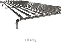 Grand Kit Bbq En Acier Inoxydable En Brique Diy 91cm X 40cm Grill Heavy Duty Design