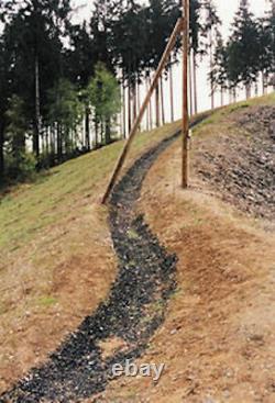 Ground Grid De Geocell Kit De Stationnement De La Route Lourde- 108 Pieds Carrés Clips Gratuits