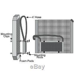 Haute Performance Transmission Refroidisseur D'huile 8 Ventilateur Kit Heavy Duty Remorquage