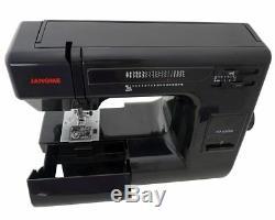 Janome Hd3000 Black Edition Heavy Duty Machine À Coudre + 6 Piece Kit Deluxe Quilt