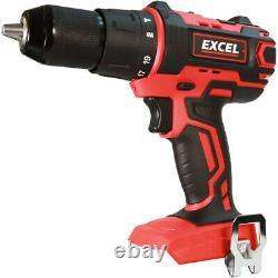 Kit D'outils D'alimentation Excel 18v 7 Pièces Avec Chargeur Et Sac De Batteries 3 X 5.0ah Exl5046