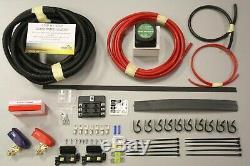 Kit De Charge De Split 140 Amp Pour Loisirs Batterie 7m, Campervan Heavy Duty Vsr Kit