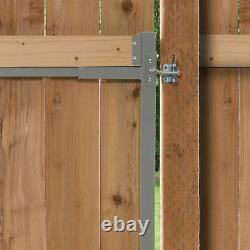 Kit De Construction De Porte D'armature En Acier Adjust-a-gate, Ouverture Large 36-72 Jusqu'à 6' De Haut