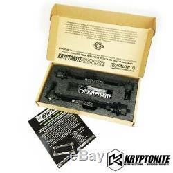 Kryptonite Mort Grip Tie Rod Kit Pour 2001-2010 Gmc Chevy 2500hd 3500hd Ramassage