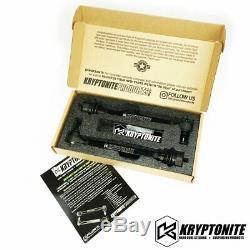 Kryptonite Mort Grip Tie Rod Kit Pour 2011-2020 Chevy Gmc 2500hd 3500hd Ramassage