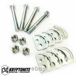 Kryptonite Stage 3 Kit De Nivellement Avec Fox Shocks 11-19 Chevy Gmc 2500hd 3500hd