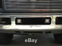 Led 40w Avec Pods Foglight Support / Câblages Pour 05-07 Ford F250 F350 F450 Excursion