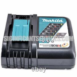 Makita Xwt08z 18v Lxt Li-ion Brushless 1/2 Dans Sq. Drive Impact Wrench 5.0 Ah Kit