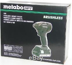 Metabo Wh18dbfl2 Qb 18v Sans Fil Lithium-ion Brushless Impact Kit Neuf Dans La Boîte