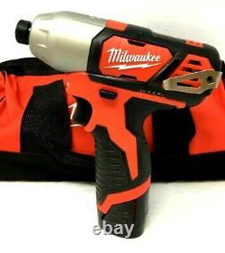 Milwaukee 2494-22 Forage + Impact 2 Driver Combo Kit M12 12v Lithium-ion L40
