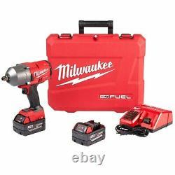 Milwaukee 2766-22 Kit De Clé D'impact D'épingle À Défaut M18 De 18 Volts De 1/2 Pouce