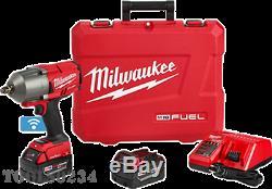 Milwaukee 2863-22 M18 Fuel Avec One-key Clé À Chocs 1/2 Kit De Bague De Friction