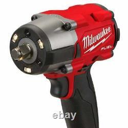 Milwaukee M18fmtiw2f12-502x 18v 1/2 Kit De Clé D'impact De Couple Moyen 2 X 5.0ah