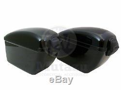 Mutazu Universal Lw Dur Sacs De Moto Saddlebags Avec Heavy Duty Kit De Montage