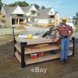Nouveau Workbench Garage Heavy Duty Banc De Rangement Pour Outils De Travail Tiroir D'étagère Kit 8 Pi