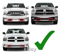 Pare-chocs Inférieur Mont Led Barre Avec Support, Câblage Pour 11-18 Dodge Ram 1500