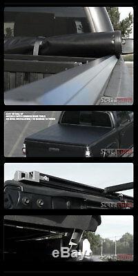 Pour 02-09 Dodge Ram Pick-up 6.5 Courte Lock & Roll Up Couvre-bagages Souple