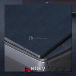 Pour 2004-2014 F150/2006+ Mark Lt 5.5'/66 Bed Tri Fold Soft Vinyl Tonneau Cover