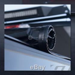 Pour 2004-2014 F150 Reg / Super / Supercrew 6.5 Ft Bed Lock & Rouleau Couvre-bagages Souple