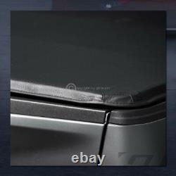 Pour 2005-2015 Toyota Tacoma 5 Ft 60 Lit Court Snap-on Soft Vinyl Tonneau Cover