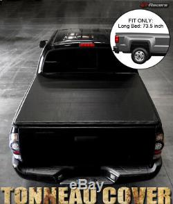 Pour 2005-2015 Toyota Tacoma 6 Ft 72 Longue Snap-on En Vinyle Souple Tonneau Cover