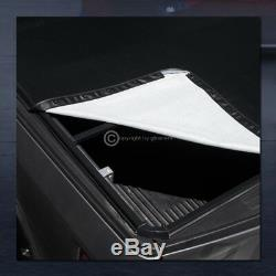 Pour 2007-2014 Chevy Silverado / Gmc Sierra 6.5 Ft Bed Snap-on Vinyle Tonneau Cover
