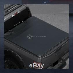 Pour 2009-2018 Dodge Ram 5.7 Pieds 68,4 Courte Snap-on Vinyle Tonneau Cover