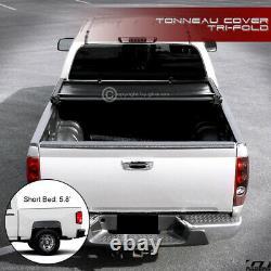 Pour 2014-2018 Chevy Silverado/gmc Sierra 5.8 Ft Bed Tri-fold Soft Tonneau Cover