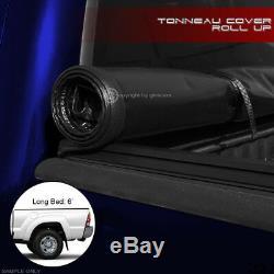 Pour 2016-2020 Toyota Tacoma 6 Ft (72) Longue Lock & Rouleau Couvre-bagages Souple